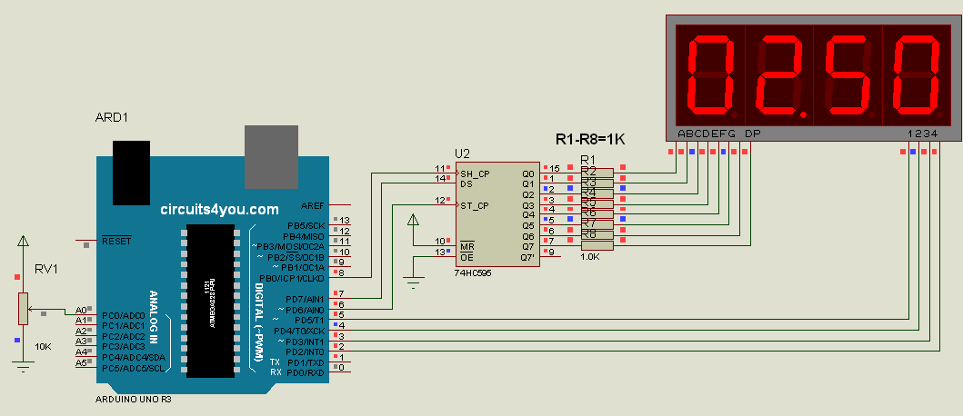 digital voltmeter using arduino circuits4you comdigital voltmeter circuit diagram