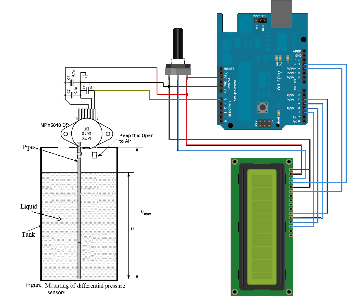 Tank Float Switch Schematic Simple Guide About Wiring Diagram 4 Water Pressure Sensor Circuit And