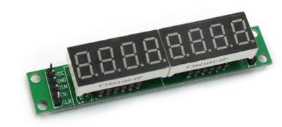MAX7219 7-segment Displau Module