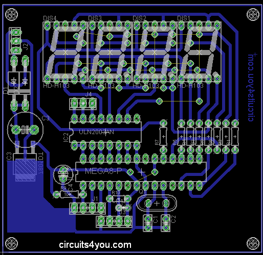 Flow Meter PCB Layout