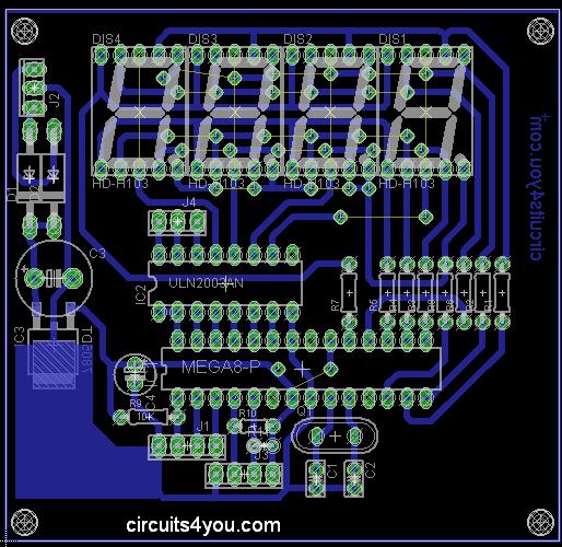 Flow Meter PCB Layout