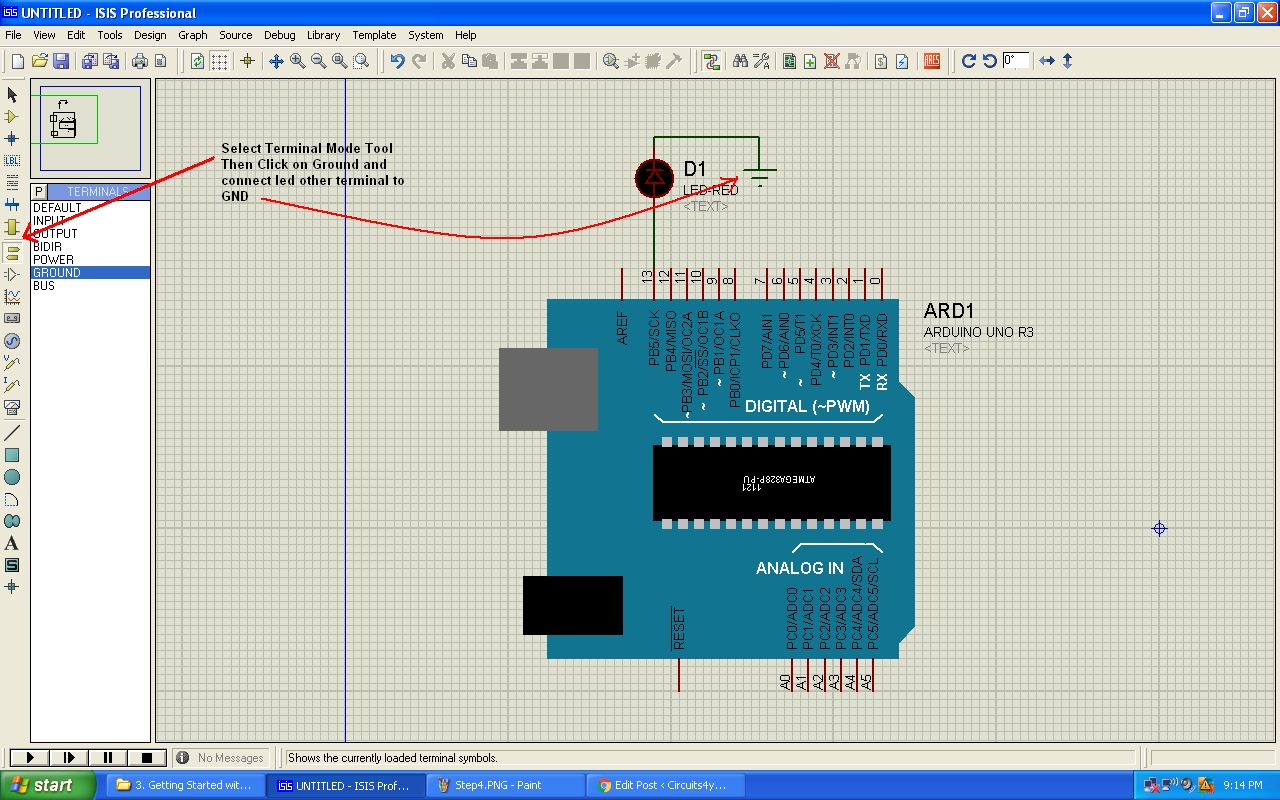 Getting Started With Proteus All New 8 Circuit Designing And Simulation Software Blogging Making Connections In