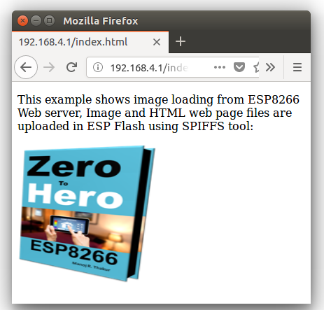Upload image (PNG, JPEG) to ESP8266 Web Page and Display it