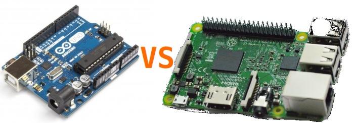 arduino vs raspberry pi
