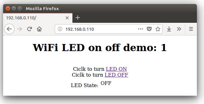 ESP8266 Web Server with HTML Web Page | Circuits4you com