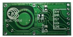 Microwave Motion Sensor Pinout