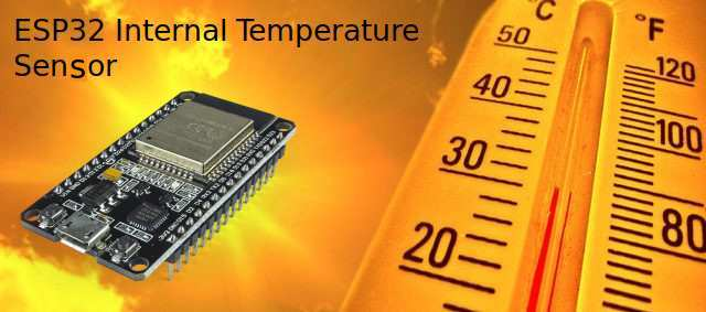 ESP32 Internal Temperature Sensor