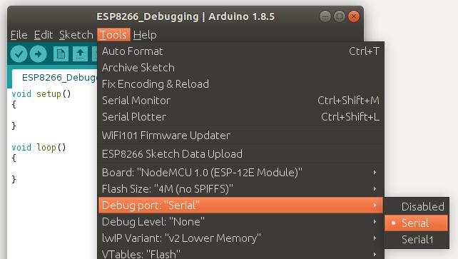ESP8266 Debugging Exceptions | Circuits4you com
