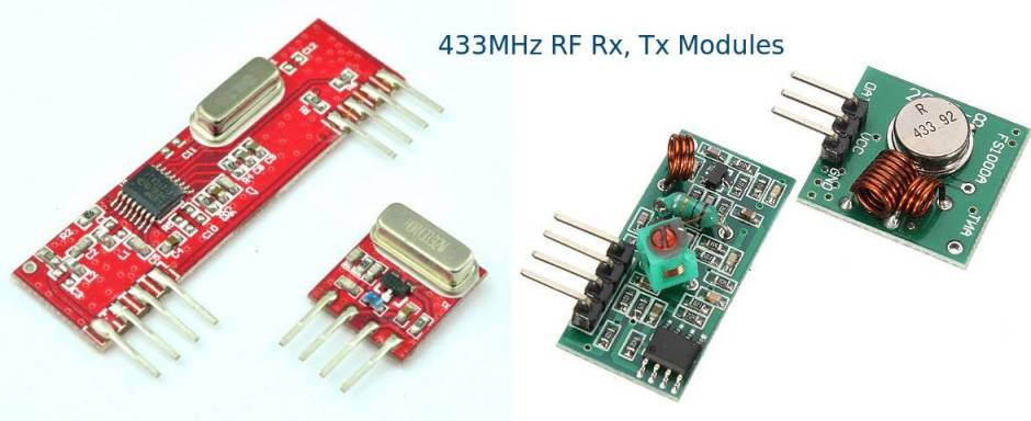 Arduino 433MHz RF Interface