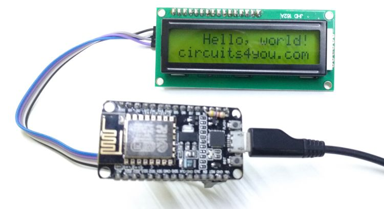 ESP8266 I2C LCD Interface
