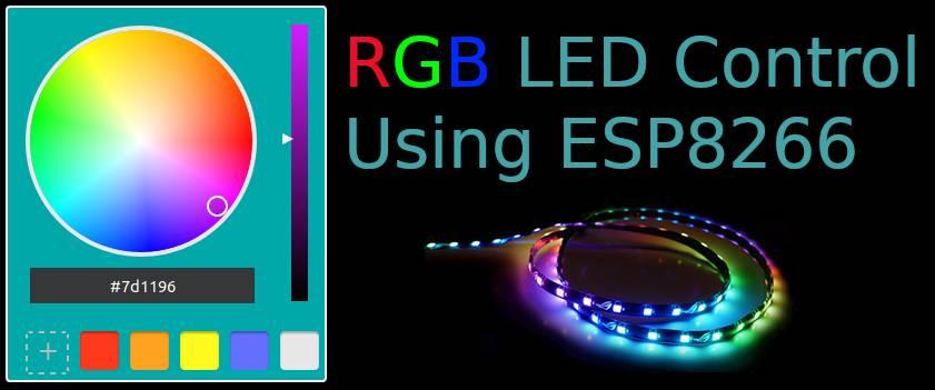 NodeMCU RGB LED Control